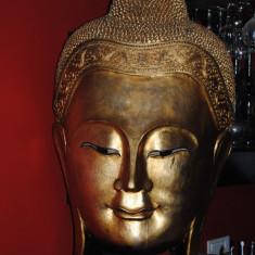 Sculptura cap buddha - Mobila pentru baruri si cluburi