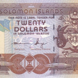Bancnota Insulele Solomon 20 Dolari (2011) - P28 UNC ( serie C/4 )