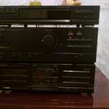 Amplificator cu tuner si cassette 2x100 w - Amplificator audio Kenwood, 81-120W