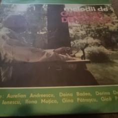 Gherase Dendrino Melodii de disc vinyl Muzica Pop electrecord slagare usoara romaneasca lp, VINIL