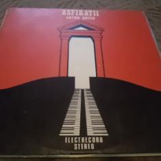 ANTON SUTEU ASPIRATII YEARNING disc vinyl Muzica Pop electrecord usoara romaneasca lp 1988, VINIL