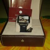 Ceas Reichenbach RB306-102 NOU - Ceas dama, Lux - elegant, Mecanic-Manual, Inox, Piele, Rezistent la apa