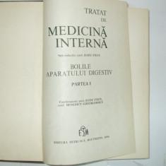 R. Paun Tratat de medicina interna bolile aparatului digestiv I 1984 - Carte Gastroenterologie