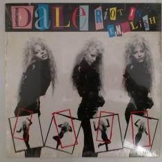 Disc vinil vinyl pick-up SIGILAT DALE BOZZIO Riot in English LP 1988 US Warner Bros Records 125599 Original rar vechi colectie - Muzica R&B
