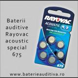 Baterii auditive Zinc-Aer Rayovac 675