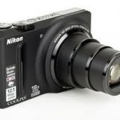 Aparat foto NIKON S 9100 - Aparat Foto compact Nikon, Compact, 12 Mpx, 18x, 3.0 inch