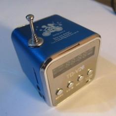 Boxa portabila acumulator radio fm si MP3