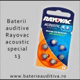 Baterii auditive Zinc-Aer Rayovac 13