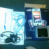 SAMSUNG GT-S5230 +APARAT FOTO SONY DSC-S650(7 MP CAMERA SI CARD 4 GB) - Telefon mobil Samsung Star S5230, Alb, Neblocat