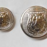 Nasturi de metal argintat