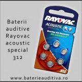 Baterii auditive Zinc-Aer Rayovac 312