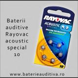 Baterii auditive Zinc-Aer Rayovac 10
