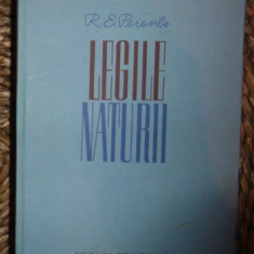 R. E. Peierls LEGILE NATURII Ed. Stiintifica 1963 - Carte Fizica