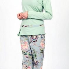 PIJAMA SOFIA MAN - Pijamale dama, Marime: 42, 48, Culoare: Verde, Verde