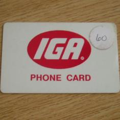 CARD INCARCARE MOBIL - PIESA DE COLECTIE