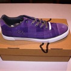 Adidasi KAPPA --- Marimea 43 - Originali - (Low White Purple) - Adidasi barbati Kappa, Culoare: Mov