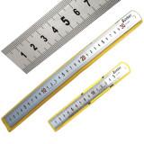 Rigla inox 600 mm