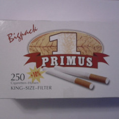 Tuburi tigari Primus Bigpack 5 x 275 buc. pentru injectat tutun - Foite tigari