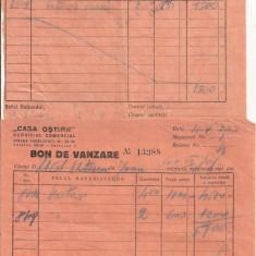 Casa Ostirii - lot 8 bonuri de vanzare - 1942