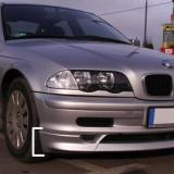 Vand prelungire fusta spoiler adaos extensie bara fata BMW E46 1998 2002 ver 1 - Prelungire bara fata tuning, 3 (E46) - [1998 - 2005]