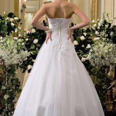 Vand rochie de mireasa model Calin Events - Rochie scurta de mireasa