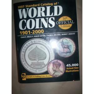 World Coins 1901-2000(carte numismatica)