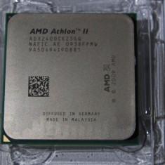 Procesor am2+ AM3 Athlon II X2 240 Dual 2.8Ghz cooler box 65W ddr2 sau ddr3 - Procesor PC AMD, AMD, AMD Athlon II, Numar nuclee: 2, 2.5-3.0 GHz