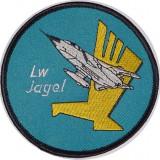 -Ecuson Geaca Aviatie Pilot Escadrila AF51 Lw Jagel-1988-Original-Colectie Personala-Nefolosit-Editie Limitata-