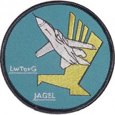 -Oferta Limitata-Ecuson Geaca Aviatie Pilot-Escadrila AG 51 Lw Tornado -1983-Original-Colectie Personala-Nefolosit-Editie Limitata-
