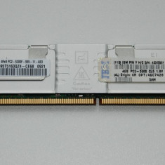 Memorie server Samsung IBM 4GB(1X4GB) 667MHZ PC2-5300 ECC FULLY BUFFERED DDR2