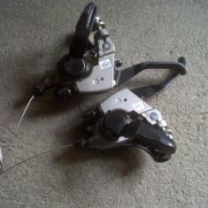 Shimano Acera ST-EF35-L 8 vit. manete combo - Piesa bicicleta Shimano, Maneta schimbator/frana