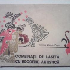 Combinatii de laseta cu broderie artistica - Vasilica Zidaru-Popa - Carte design vestimentar