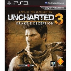 PE COMANDA Uncharted 3 Game of the Year Edition SIGILAT