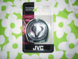 Casti in ear JVC HA-F10C + cutie transport, sigilate, Cu fir, Mufa 3,5mm