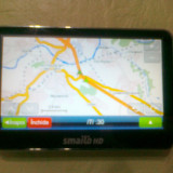 Gps smailo hd 4.3 full eu+ro, Toata Europa, Redare audio: 1, Touch-screen display: 1, Incarcator auto: 1