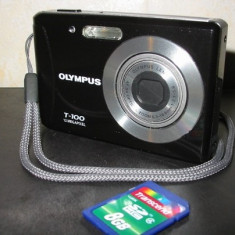 Vand Aparat Foto Olympus T100 - Aparat Foto compact Olympus, Compact, 12 Mpx, 3x, 2.8 inch