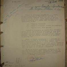 Lot 2 documente - Prietenia romano-sovietica - 1949