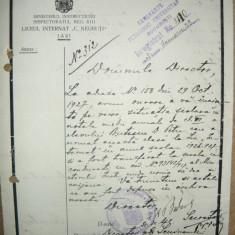 Seminarul Pedagogic Universitar - Lot 4 documente ( 1926-1928)