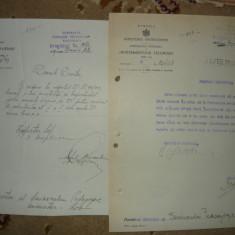 Ministerul Instructiunii - Lot 6 documente - 1928- 1933