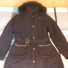 Haina de iarna dama - Geaca dama, Marime: XL, Negru, Bumbac