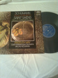 SCHUMANN - CELLO CONCERTO No.1 SAINT-SAENS ( ANGELICA MAY - VIOLONCELLO & CZECH PHILHARMONIC ORCHESTRA - VACLAV NEUMANN) - disc vinil