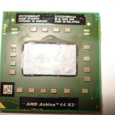 Procesor laptop AMD Athlon 64 X2 TK-55 512KB Cache, 1.8 GHz, AMD Mobile Athlon 64, 1500- 2000 MHz, Numar nuclee: 2, S1