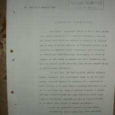 Cercetasii Romaniei - Document ( semnat de Vasile Militaru ) - 1930