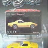 Macheta americana '70 CHEVY CORVETTE /scara 1/64/GREENLIGHT, Inc. ++2100 de LICITATII !! - Macheta auto