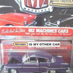 Macheta americana '54 DODGE CORONET /scara 1/64/ M2 MACHINES, Inc. ++2100 de LICITATII !! - Macheta auto