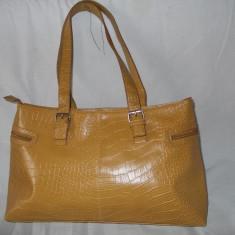 Geanta/genti, poseta, dama/femei de mana, noua - Geanta Dama Made in Italia, Culoare: Maro, Marime: Medie