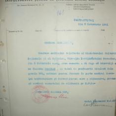 Ministerul Instructiunii - Lot 4 documente - 1928- 1941