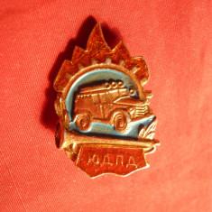 Insigna Brigada Voluntara Pompieri URSS