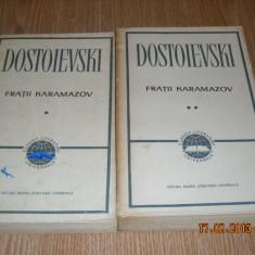 FRATII KARAMAZOV-DOSTOIEVSKI- 2 volume