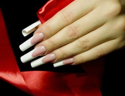 Nou Tipsuri Ru Ro Nails Manichiura Franceza Alungita 500 Buc